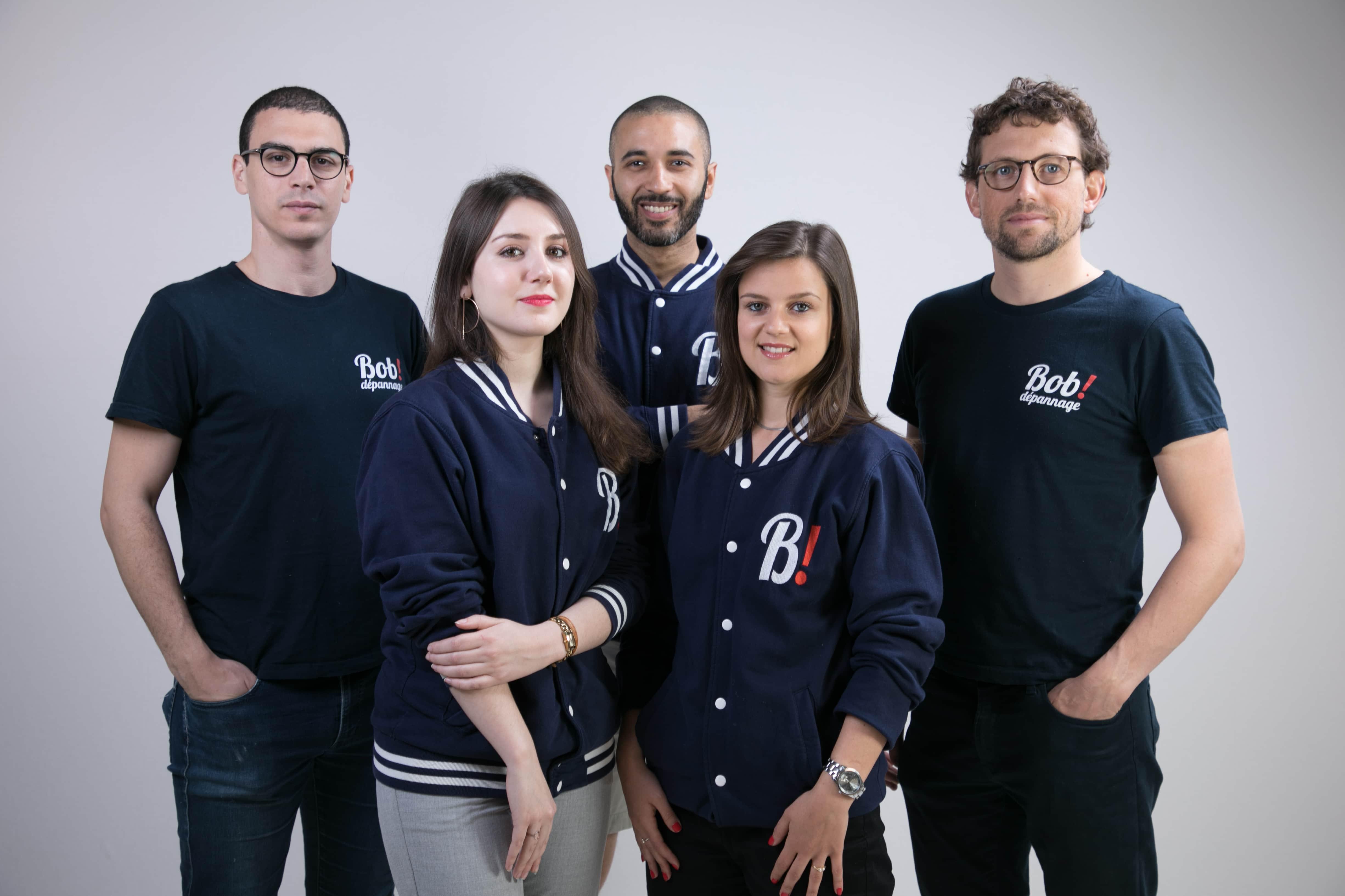 Portrait team Bob! Desk - GMAO plateforme maintenance dépannage