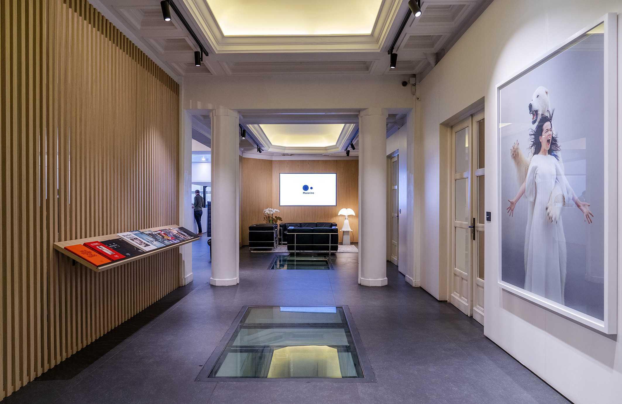 Mazarine et Bob Desk - solution GMAO pour vos bureaux, hall d'entrée